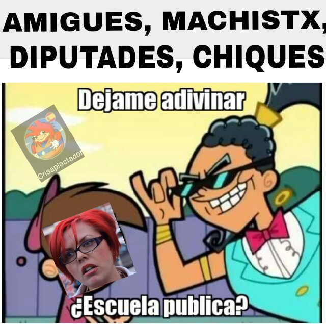 Escuela pública - meme