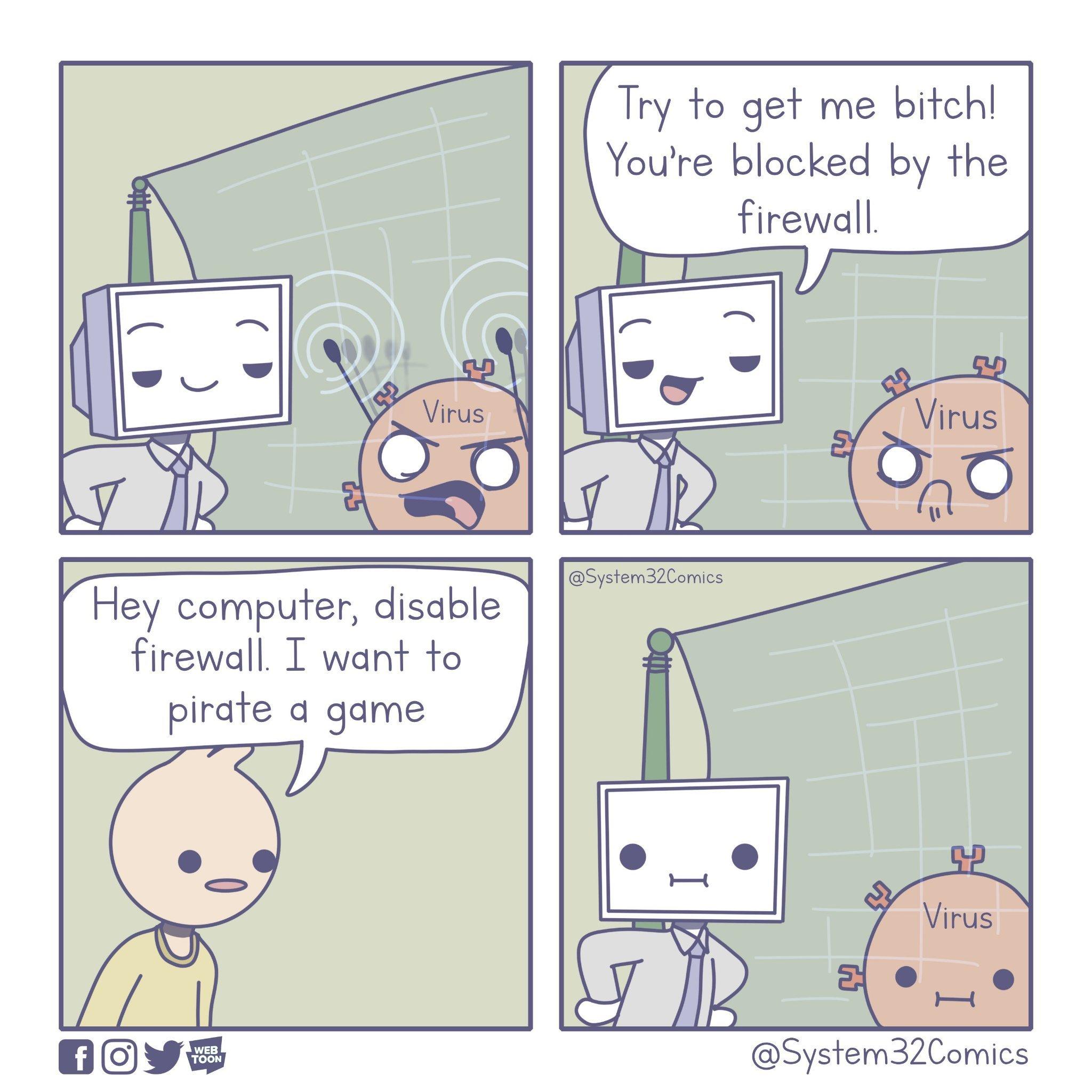 Firewall - meme