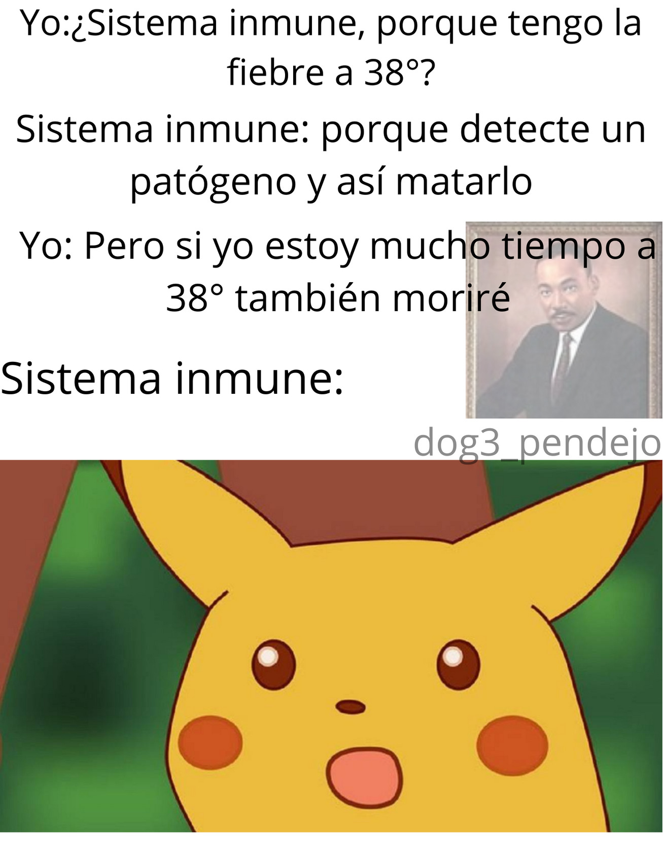 sistema inmune - meme