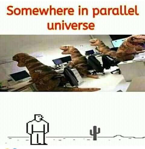 Parallel universe - meme