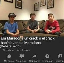 Maradona, descansa en paz - meme