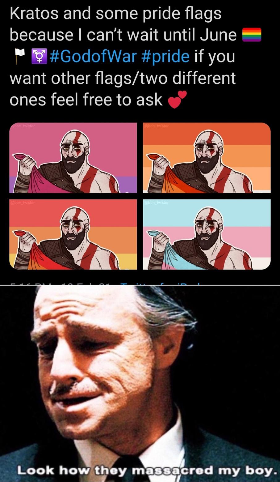 R.I.P Kratos - meme