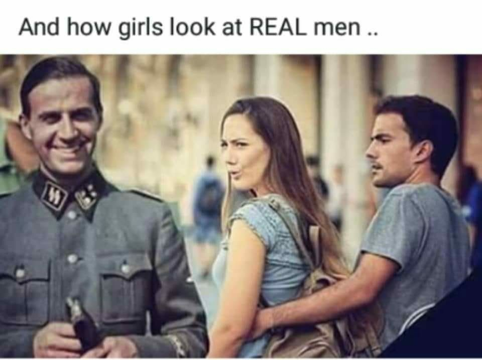 What real woman's want - meme