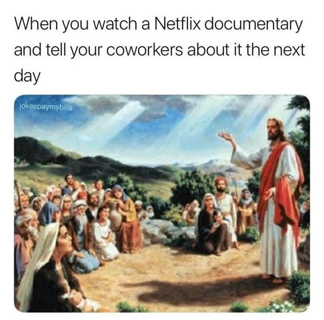 I saw the light - meme