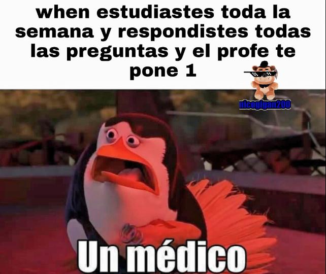 Un medoco - meme