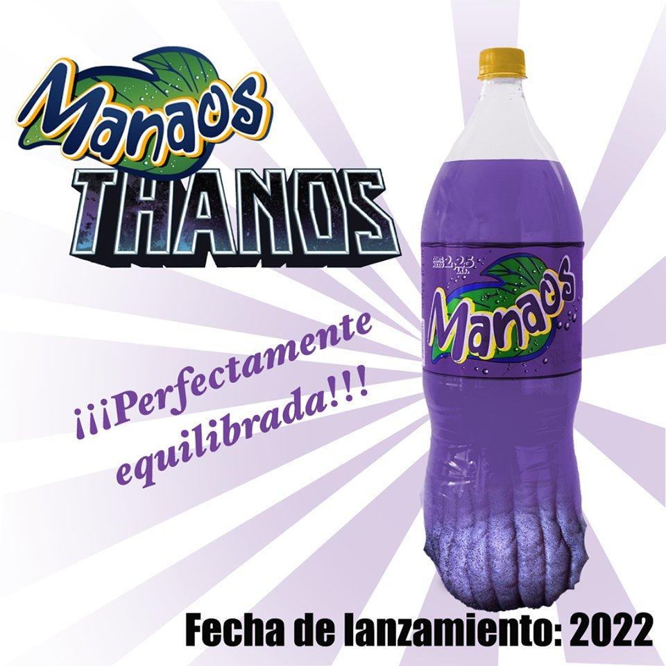 Manaos Thanos - meme