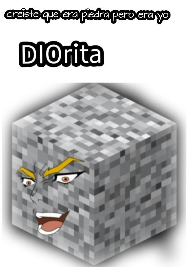 Dio brando - meme