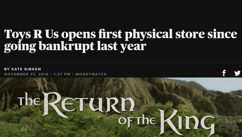Return of the King - meme