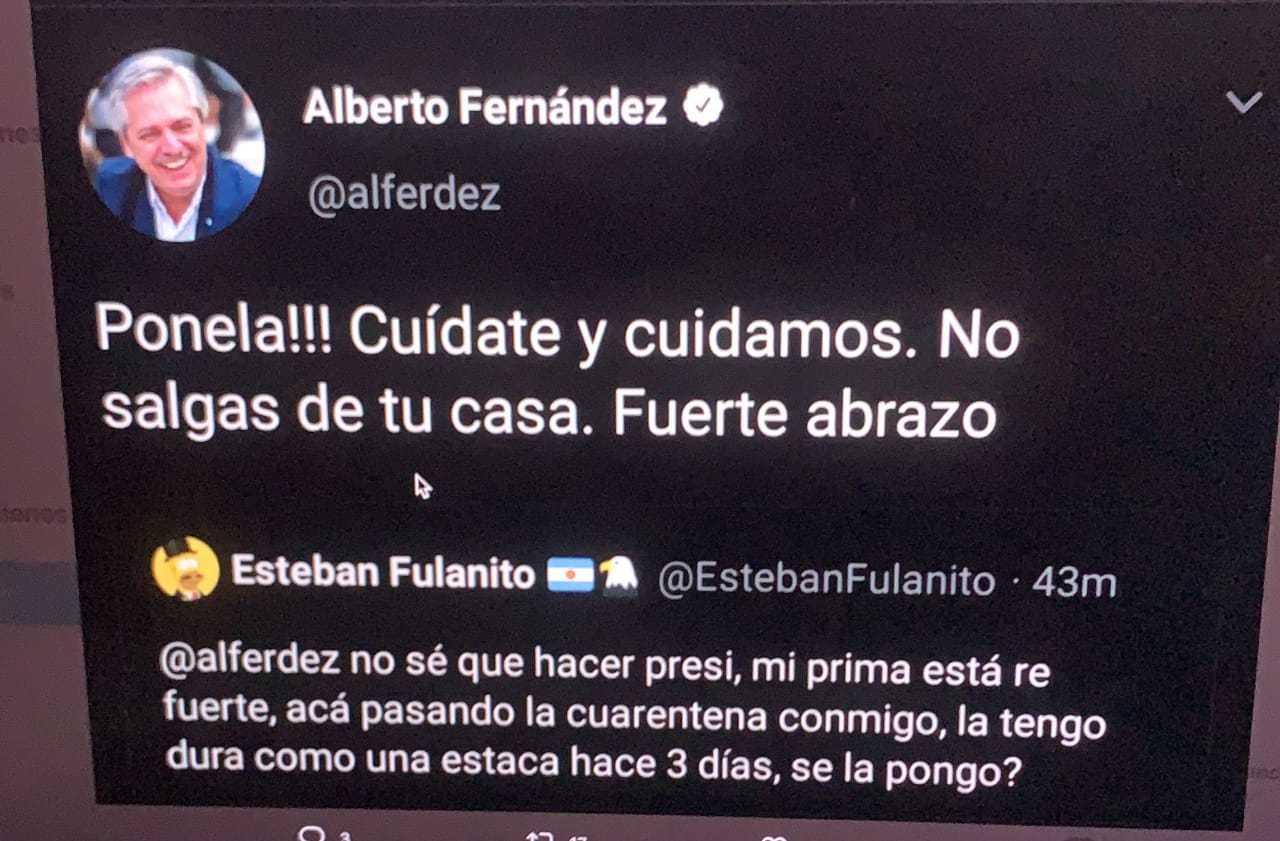 Nuestre presidente santiagueño #sacado de twitter - meme
