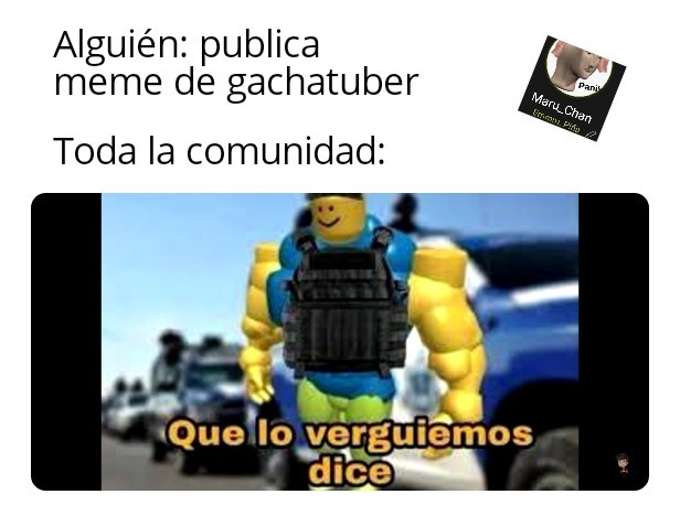 Los Gachatuber se deben extinguir - meme