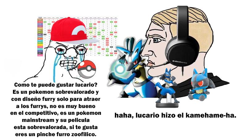 some lucario memes