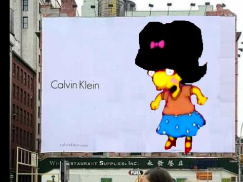 Milhouse mujer :o - meme