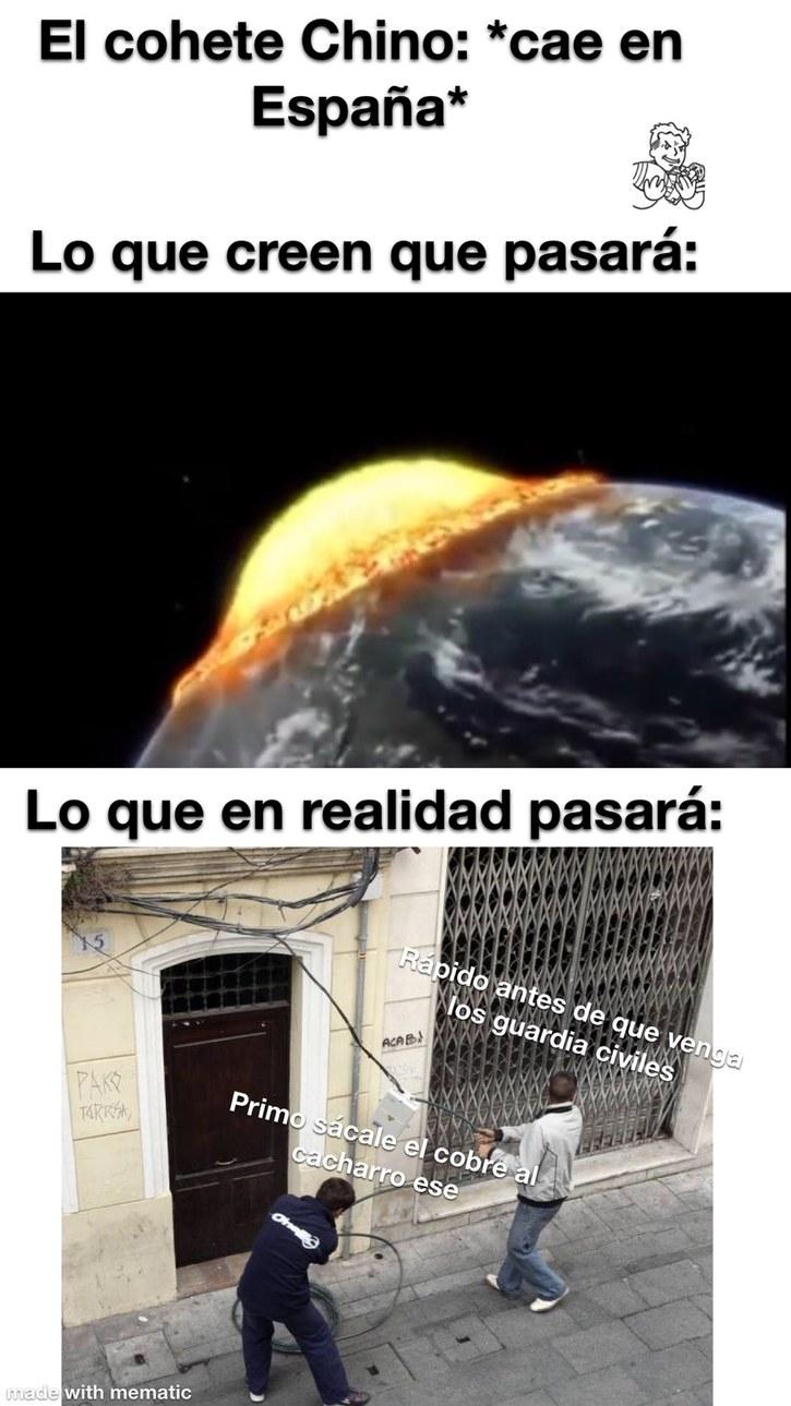 Los gitanos de españa be like: - meme