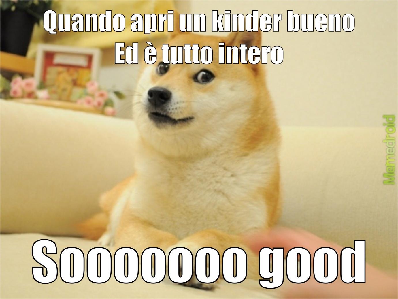 Kinder Dogeno - meme