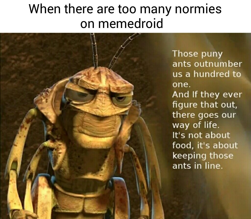 Fucking normies - meme