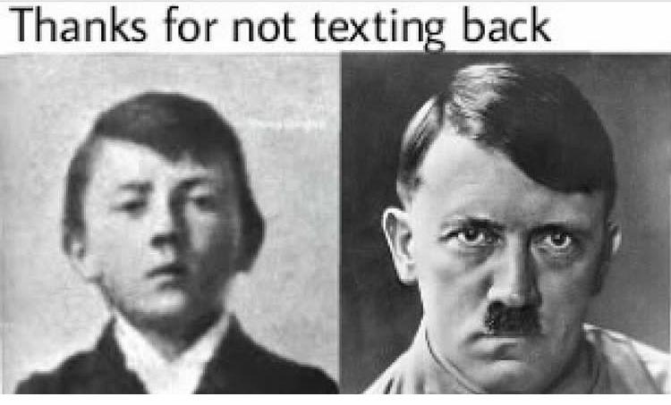 """""""obrigado por não responder minha mensagem"""" - meme"""