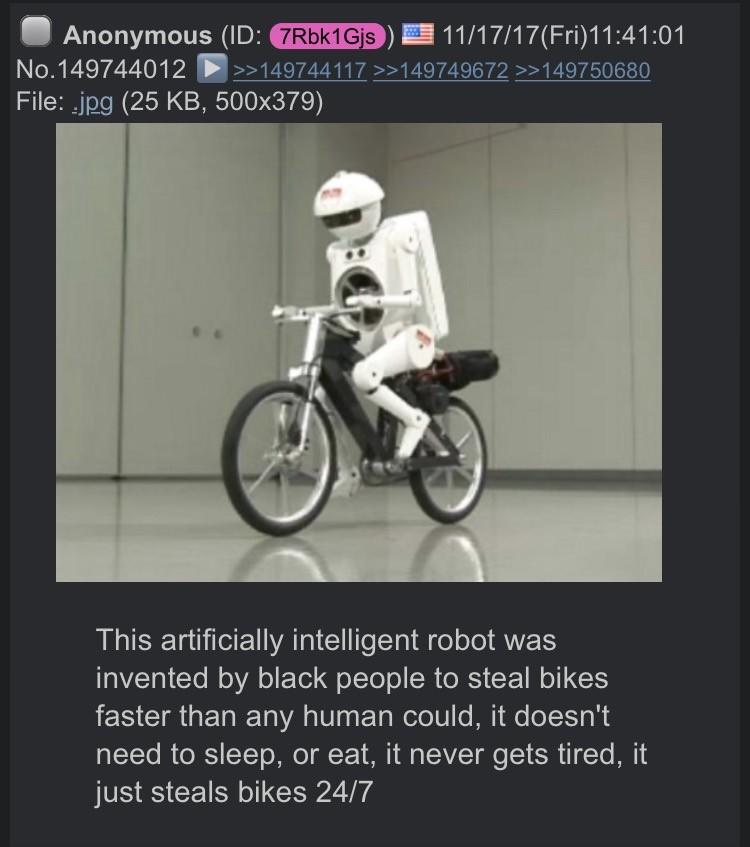 dongs in a robot - meme