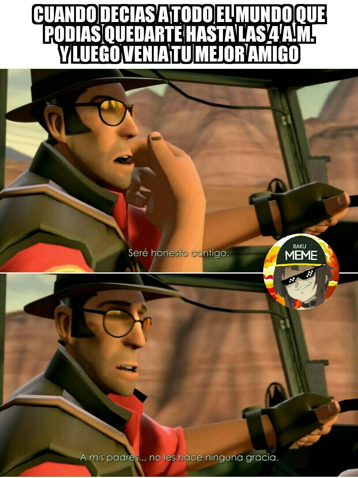 Sniper me mata con sus comentarios rhizukulentos - meme
