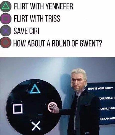 Geralt - meme