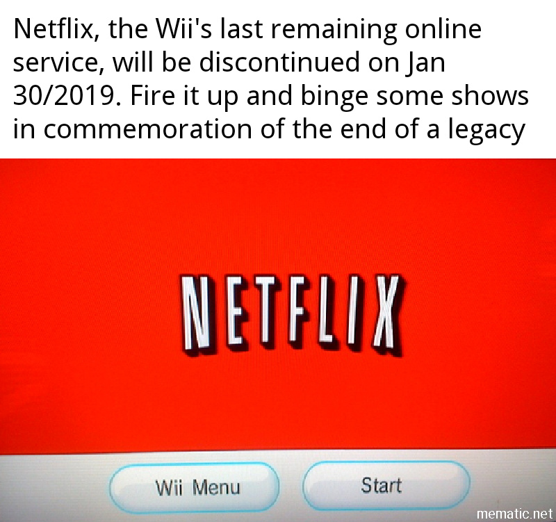 Rip Wii - meme
