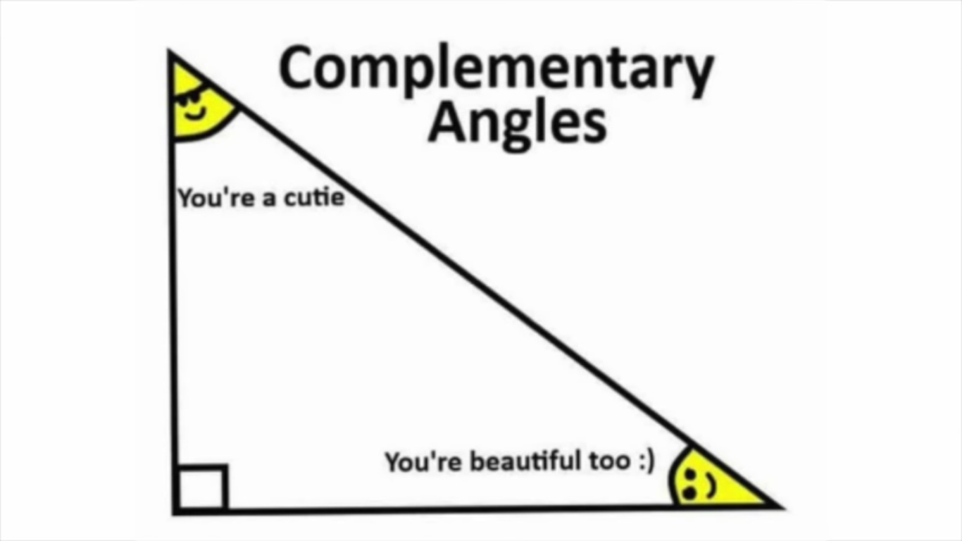 Complementary Angles - meme