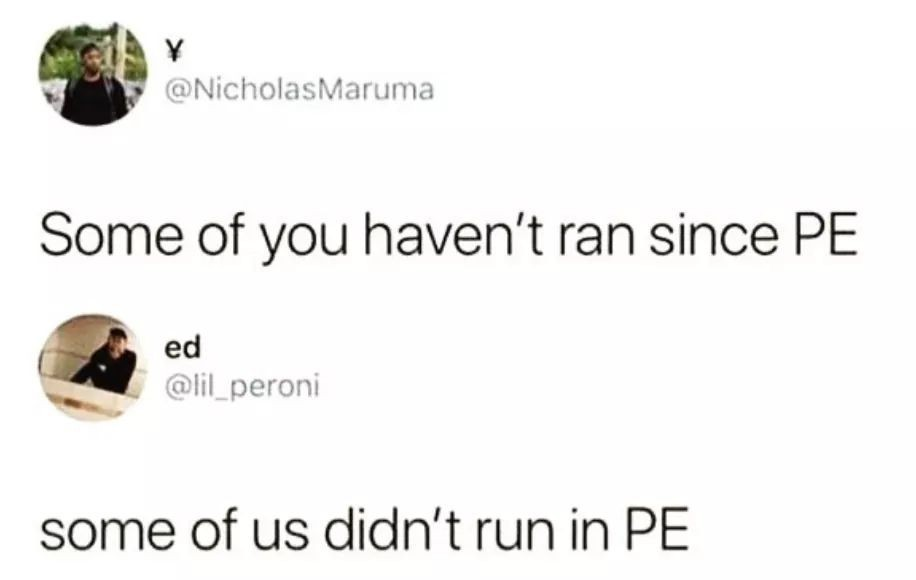 If I had to run away to save my own life i'd be dead :/ - meme