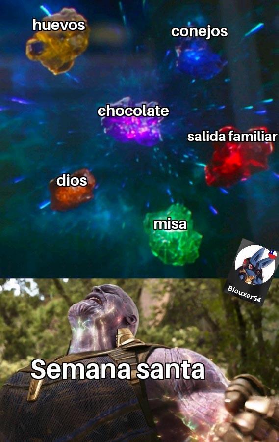Semana santismo woomy - meme