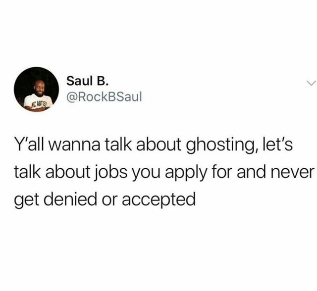 You wanna talk about ghosting? - meme