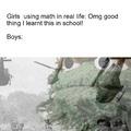 School was like a battlefield