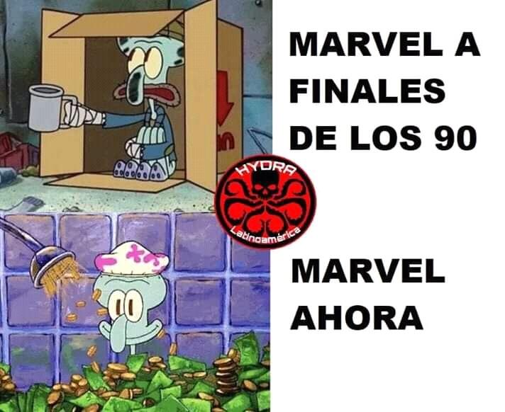 Marvel - meme