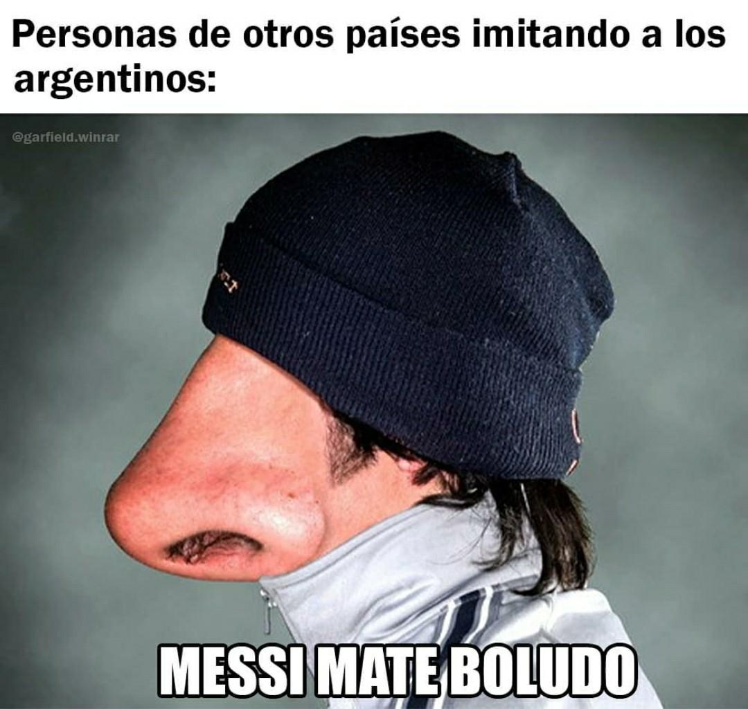 De chikito mi país favorito era argentina solo por un jugador de fútbol jajaja - meme