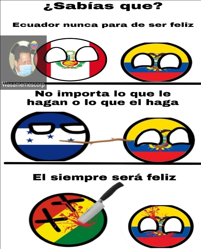 Ecuatoriano be like - meme