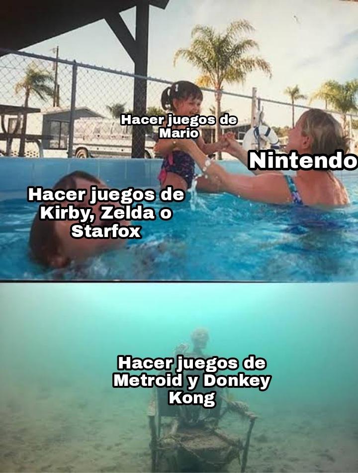 Nintendo saca un nuevo Donkey Kong por dios!! >:( - meme