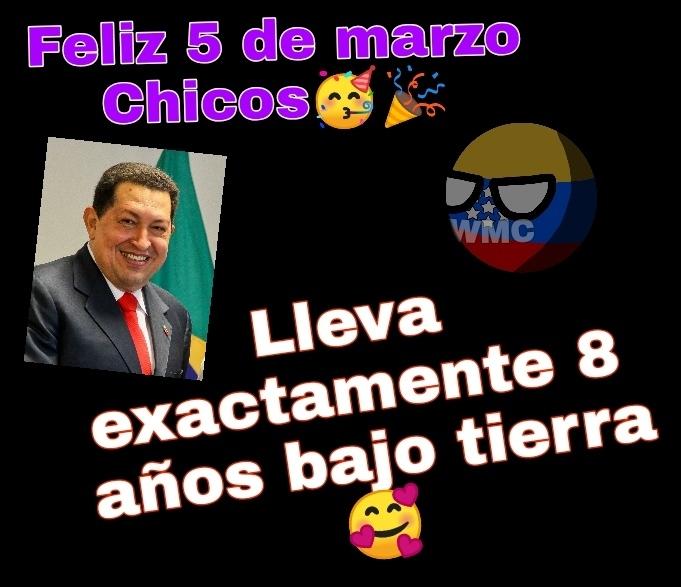 Gracias Dios, lo malo es que fue el ascenso de Maduro - meme