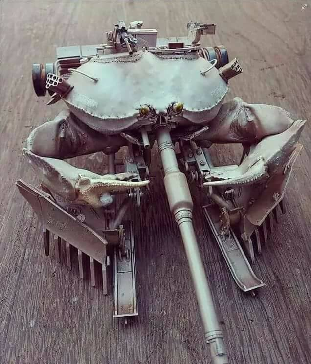 Crab tank - meme