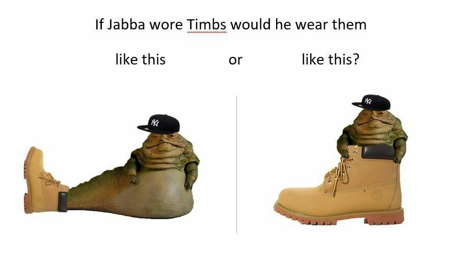 Jabba the timb - meme