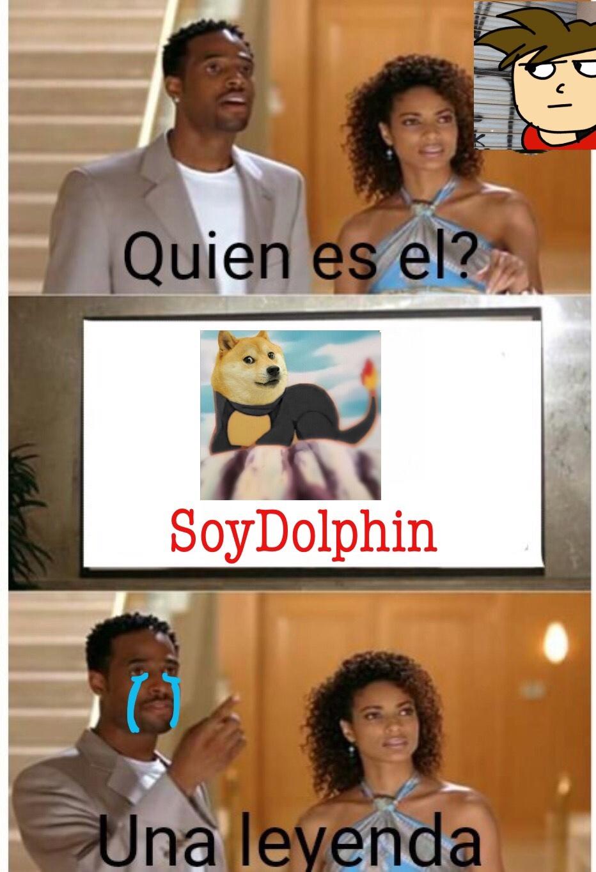 SoyDolphin vuelve - meme
