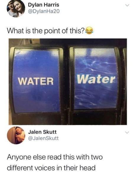 water WATER - meme