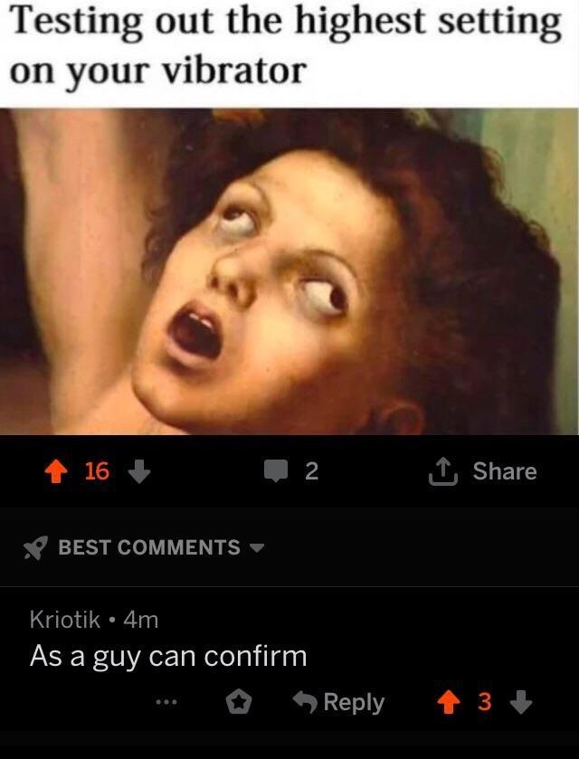 Get it it's in his bum - meme