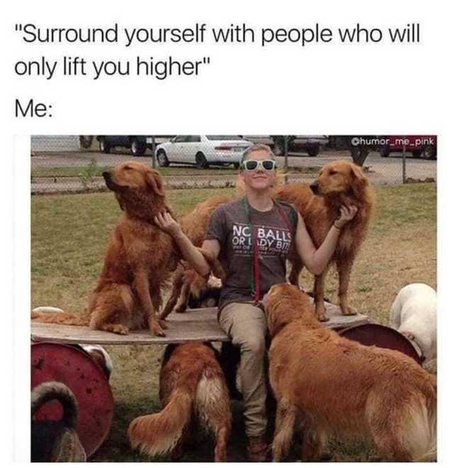 Good friends - meme