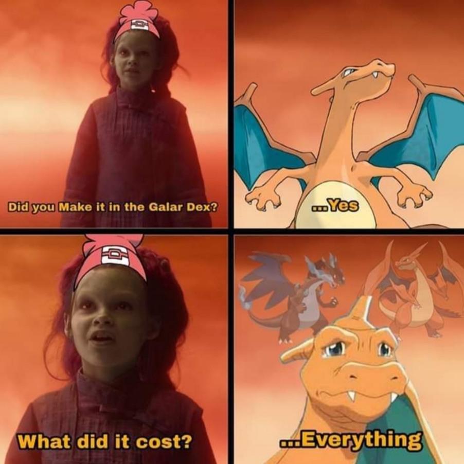 Mega Evolution > Dynamax - meme