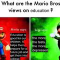 Mario bros in 3rd grade
