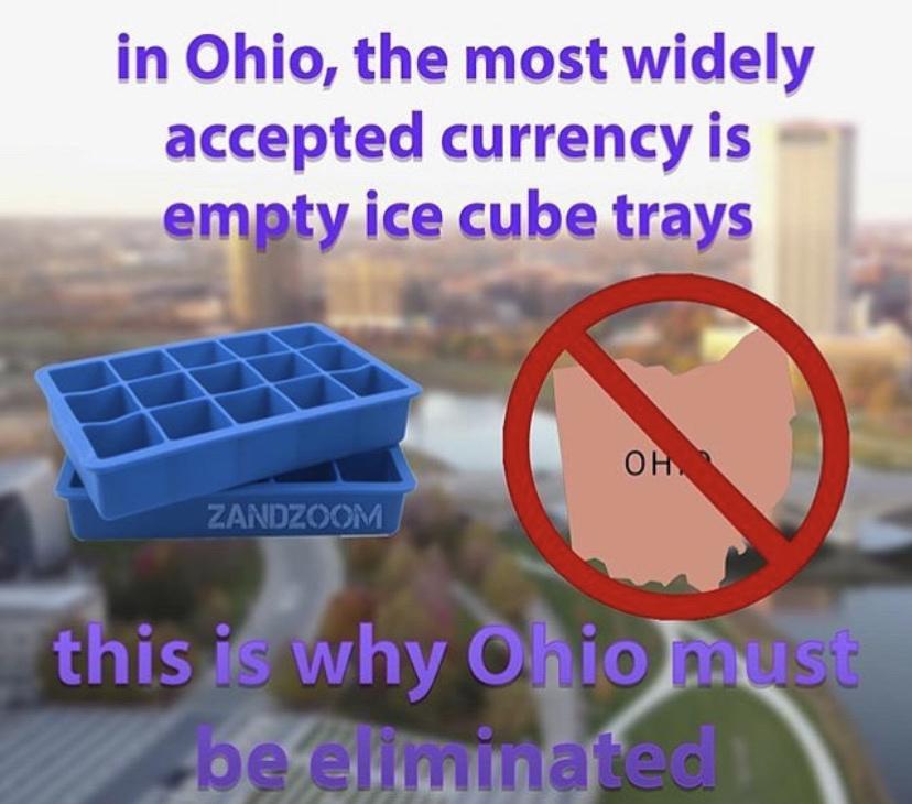 Ohio is trash - meme
