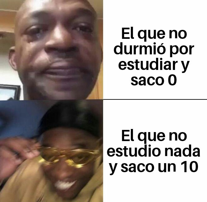 Examenes - meme