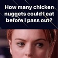 3rd person to comment gets unlimited nuggies!