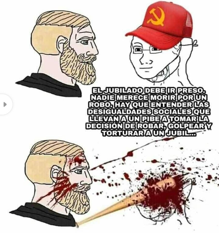 A la mierda los progres. - meme