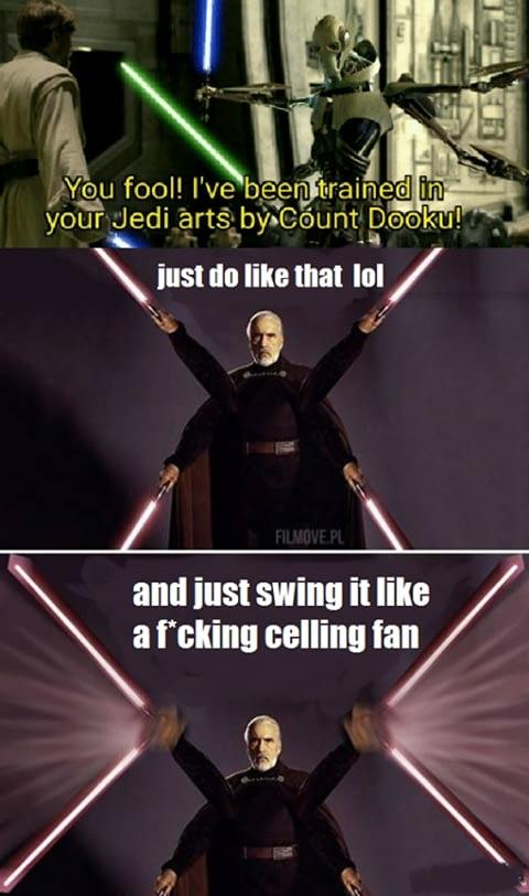 Like a fan lmao - meme