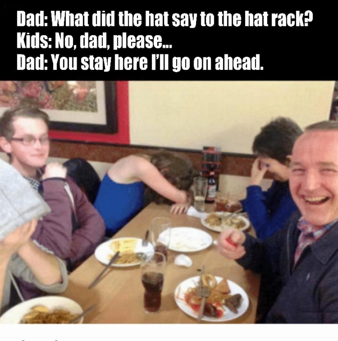 Dad humor - meme