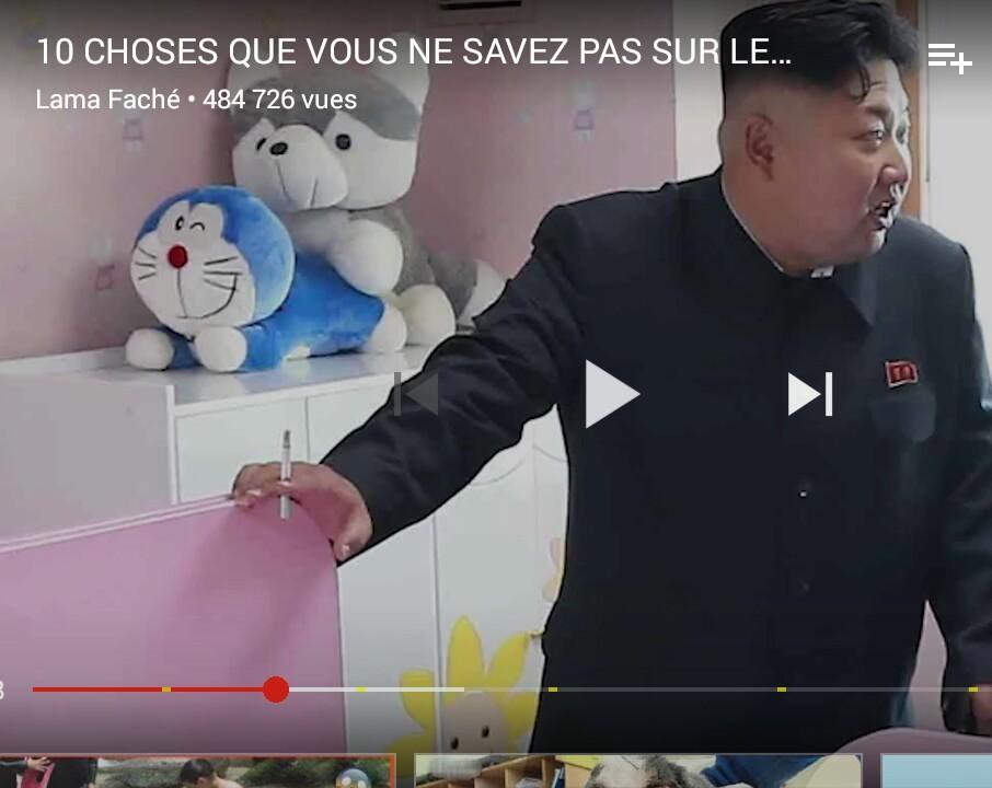 Les animaux dans une école en Corée du nord - meme