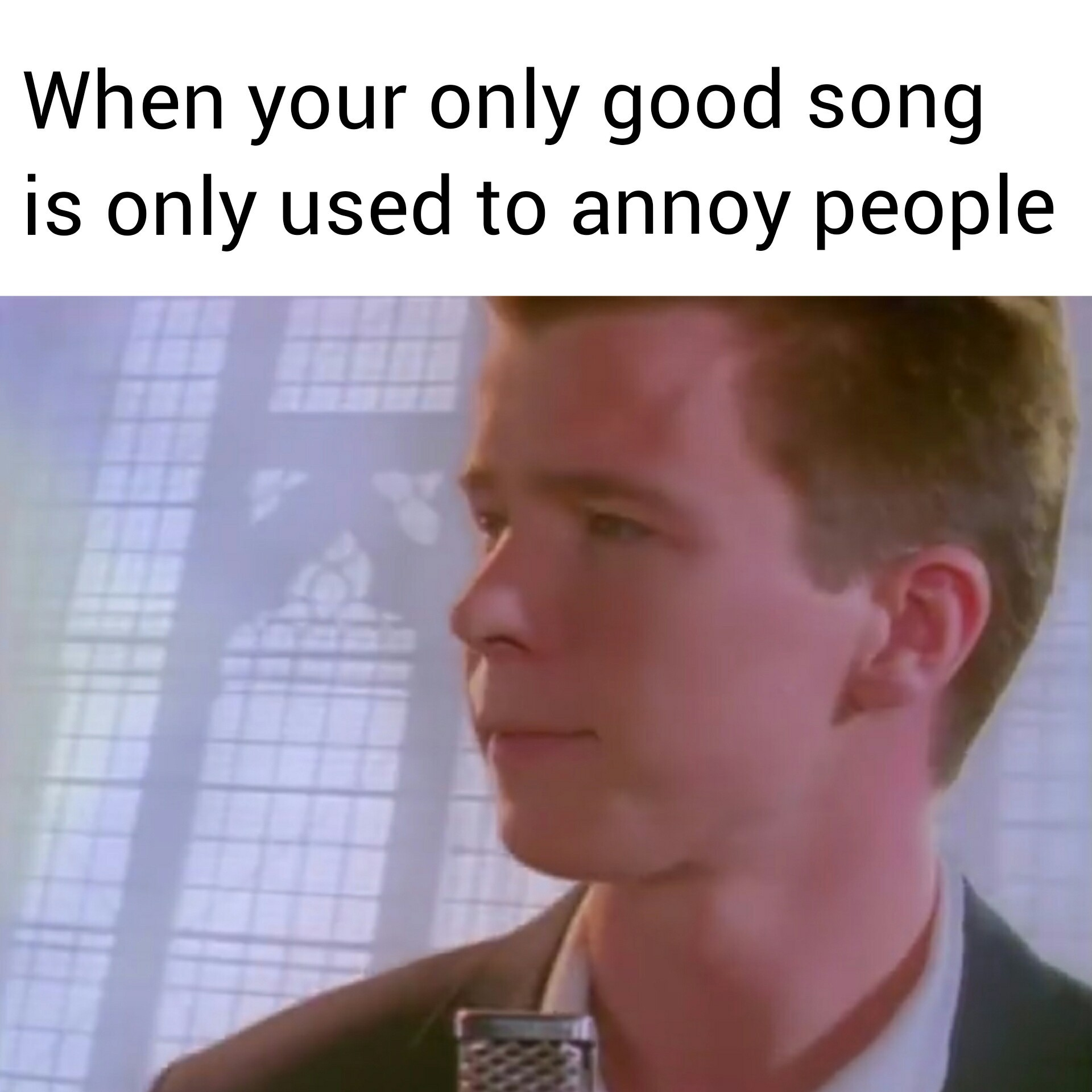 Rick Astley - Always Gonna Give You Up - meme
